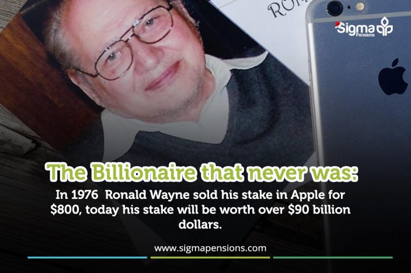 Ronald Wayne: The Billionaire That Never Was